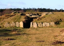 This passage grave in Tustrup is believed to be one of the largest in eastern Jutland (photo: Malene Thyssen)
