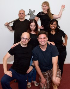 The cast of The Actor's Nightmare (photo: Hubert Baumeister)