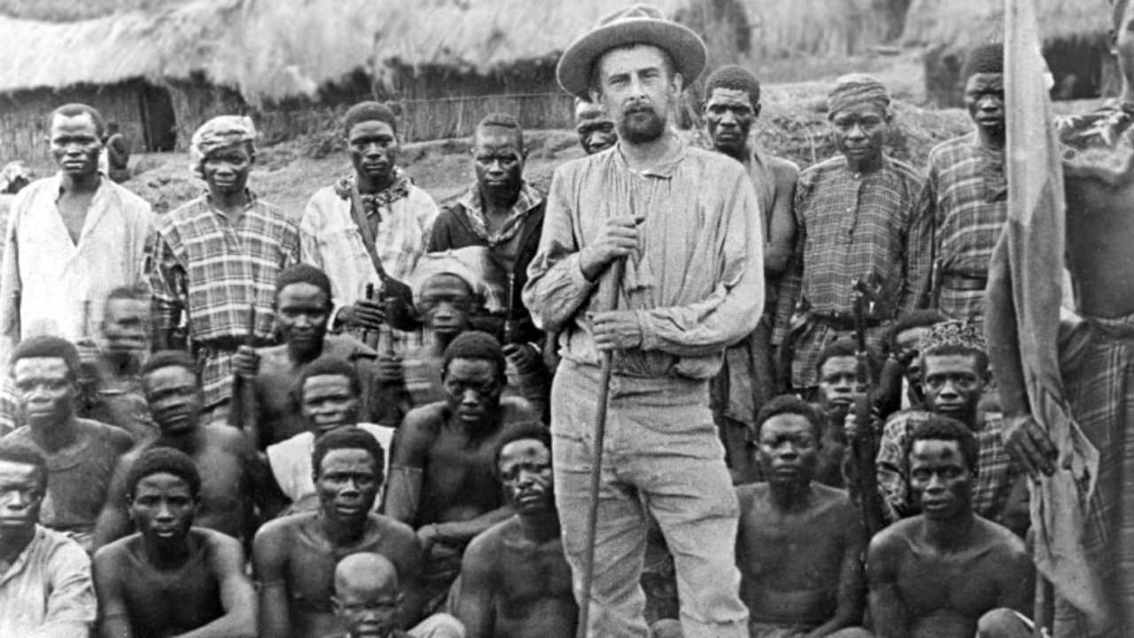 The Belgians were not kind to the Congolese (photo: Det danske Congo-Æventyr - Erobrerne)