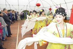 China celebrates (all photos: Hasse Ferrold)