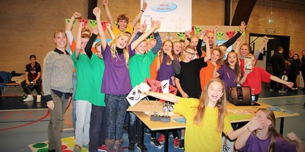 Overall, 16 percent of Danish pupils got the chance to learn about entrepreneurship last year (photo: Dansk Industri)