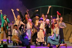 The performance of 'You've got to pick a pocket or two' was breathtaking (all photos: Kim Petersen)