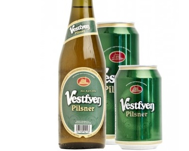 Say 'ni hao' to the Vestfyen Pilsner (photo: Bryggeriet Vestfyen)
