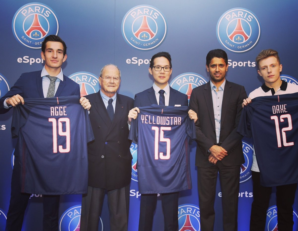 Bienvenue à Paris, Agge (photo: PSG)