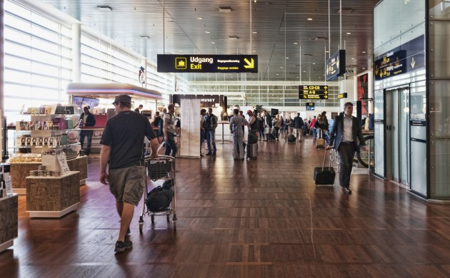 Domestic passengers at Copenhagen Airport can now use the express security control (photo: iStock)