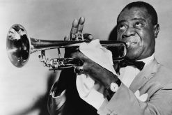 Louis Armstrong took Denmark by storm in 1933 and became one of the nation's most loved musicians (photo: Library of Congress Prints and Photographs Division)