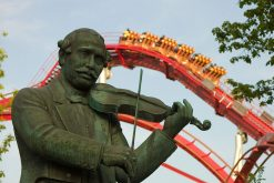 The music of Hans Christian Lumbye remains a quintessential part of the Tivoli wonderland (photo: Björn Söderqvist)