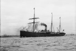 The ill-fated SS Norge already had a poor record at sea before her disastrous demise (photo: John S Johnston)