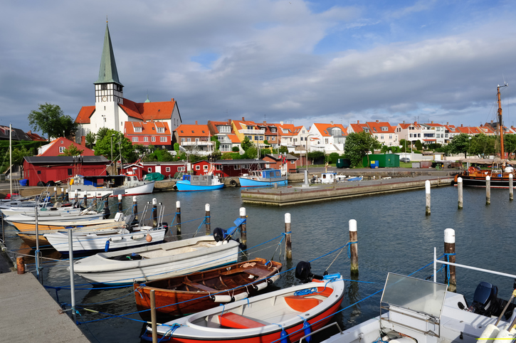 Modern-day Bornholm is no longer the scene of battles,, or at least outside Folkemødet (photo: iStock)
