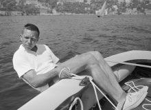 Paul Elvstrøm in 1960 (photo: Unknown)