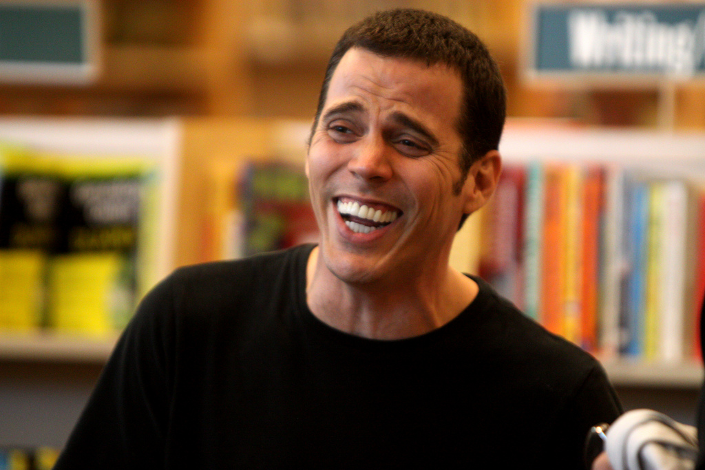 Spend an evening in the company of Steve-O (photo: Gage Skidmore)