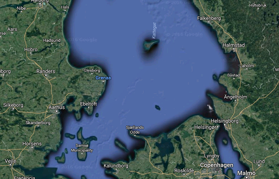 Police Search For Berlin Truck Attack Suspect In Danish Harbour - Varberg sweden map