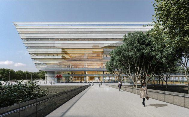 Датские архитекторы создадут новую библиотеку в Шанхае