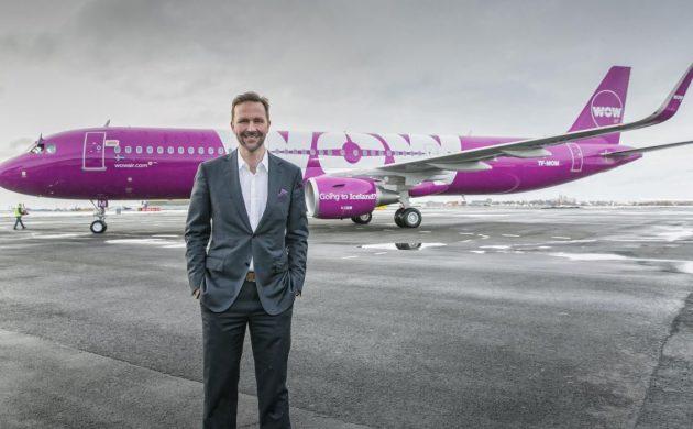 Авиакомпания WOW обещает перелеты из Копенгагена в города США и Канады за 599 крон