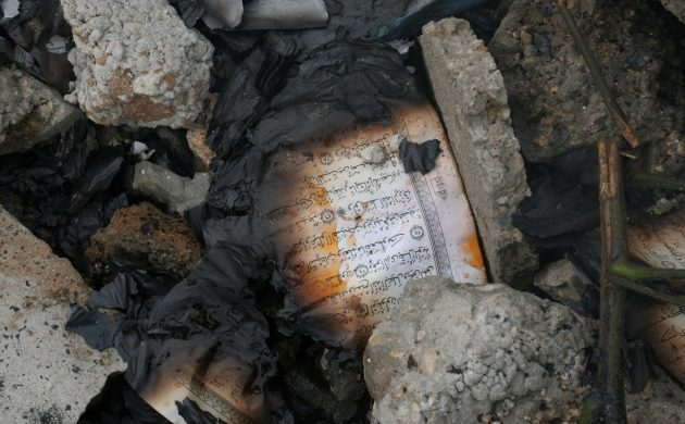Danish man charged with blasphemy after burning the Quran