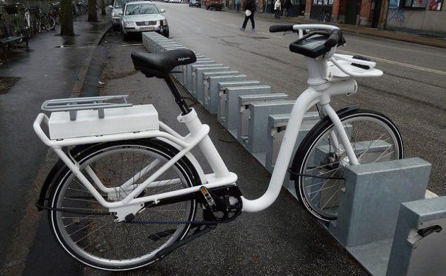 Предоставляющая в аренду велосипеды копенгагенская компания обанкротилась