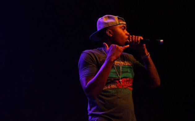 Nasir Bin Olu Dara aka Nas at his illimatic best (photo villunderlondon / Zoe Klinck
