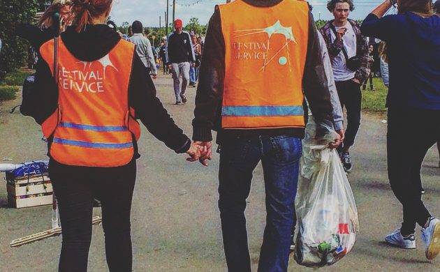 Volunteering is a key part of Rokilde festival
