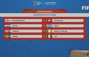 Sports News in Brief: Denmark draw Ireland for World Cup playoffs!
