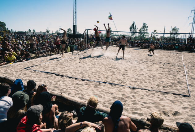 "GAME: ""We had more players and spectators than ever this year."" Photo @Rasmus Slotø"