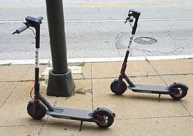Municipality cracking down on 'illegal' electric scooters – The Post